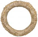 Kroužek slaměný - 25 cm - 10 ks