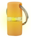 Přívěšek na obojek svítící B´seen Kruuse oranžový 1 ks