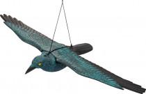 Plašič ptáků vrána letící 80 x 43,5 x v 9cm Stocker - VÝPRODEJ