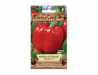 Osivo Paprika zeleninová k rychlení PARADISE F1, červená - VÝPRODEJ