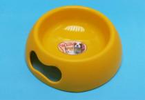 Miska plast matná žlutá MartyPet 1 000 ml