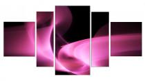 Obraz Růžová abstrakce 3105 - VÝPRODEJ