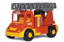 Auto multitruck hasiči stříkací vodu plast 43cm v sáčku Wader