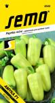Semo Paprika zeleninová sladká F1 - Amyka F1 na pole i k rychlení 15s - VÝPRODEJ
