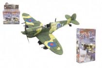 Letadlo model skládací bez lepidla 4D plast mix druhů