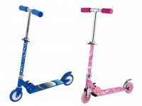 Dětská koloběžka - růžová/modrá