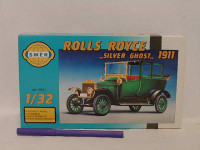 Model Olditimer Rolls Royce Silver Ghos 1911 1:32 15,2x5,6cm