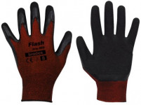 rukavice FLASH GRIP latex 8 - VÝPRODEJ