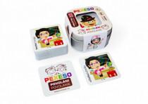Pexeso povolání voděodolné 64 karet v plechové krabičce Hmaťák