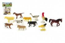 Zvířátka domácí farma plast 5cm