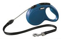 Flexi Classic NEW M lanko 5 m modré 20 kg