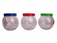 dóza WALLIBUCK 1,2l skl.+ plastové víčko - mix barev